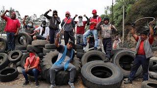 Ecuador: Colectivos indígenas declaran