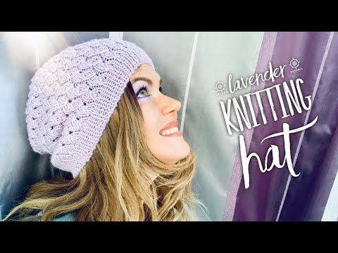 Связать спицами шапочку для женщины