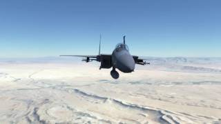 Aerial Refuelling in DCS World - Oculus Rift VR