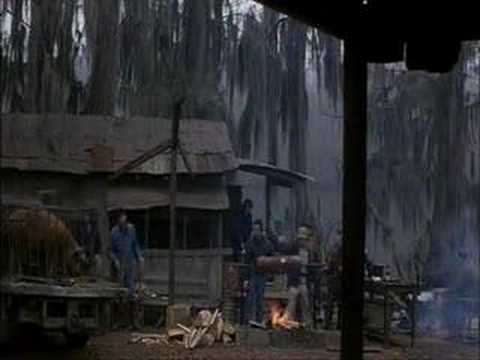 beautiful cajun music in the 1981 film southern comfort.