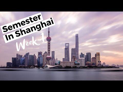 Semester in Shanghai, Week 1