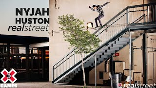 Nyjah Huston: Real Street 2012 gold | X Games