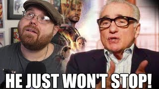 Martin Scorsese Bashes Marvel Movies.....AGAIN!!!!