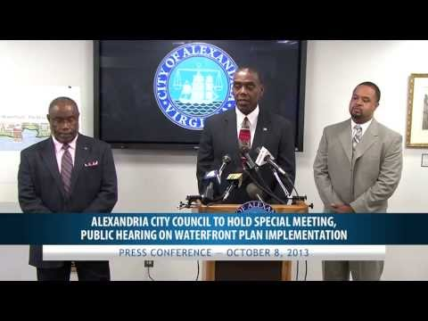 Press Conference - Council to Hold Special Meeting on Waterfront Implementation Plan