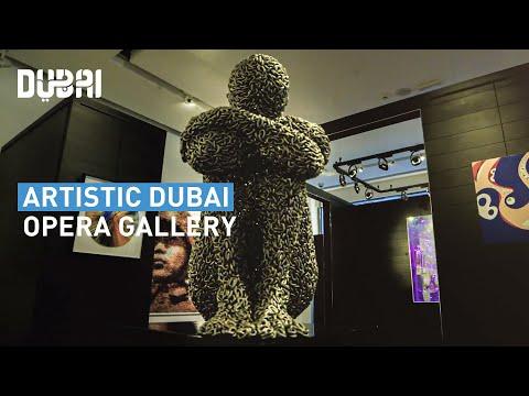 Dubai's Art Scene Blooms at Opera Gallery