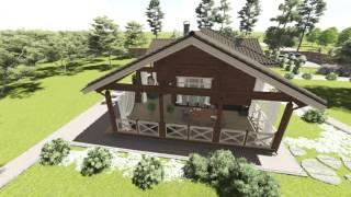 Новый Проект Аттика-Стиль №134(Проектирование и Строительство загородных домов под ключ. http://attika-style.com 0504441181., 2015-10-14T09:17:41.000Z)