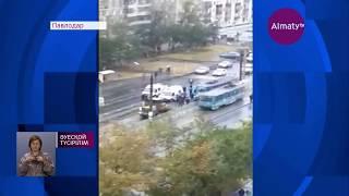 Трамвай қағып кеткен 8 жасар қыз ауруханадан шықты (19 09 17)