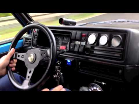VW Golf 1 VR6 Turbo GT40 1.5bar first drive / Cottbus Creepers /