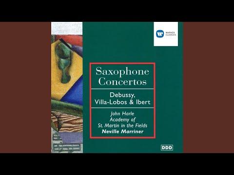 Concertino da camera for Alto Saxophone: I. Allegro con moto