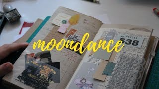 28. last junk journal with me (traveler's notebook)