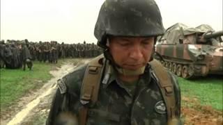 Amam promove simulado de guerra