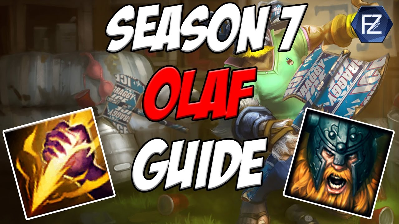 Unstoppable Force How To Play Olaf Jungle In Season 7 League Of Legends Youtube