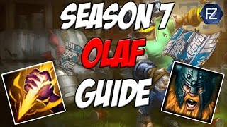 UNSTOPPABLE FORCE How to Play Olaf Jungle in Season 7 League of Legends