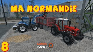 Farming simulator 15 MA NORMANDIE EPISODE 8 LE BETAIL