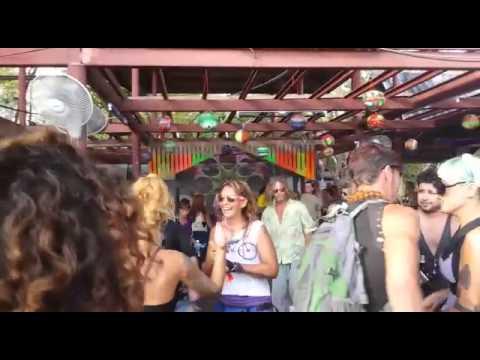 Backyard Bar In Haad Rin Koh Phangan After Full Moon Party 2015 Thailand
