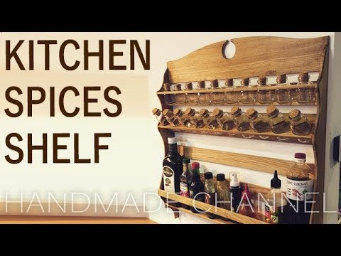 Making this Spices Rack - Woodworking on Handmade Channel