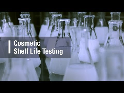 Cosmetic Expiry Date - Shelf Life - Stability Testing