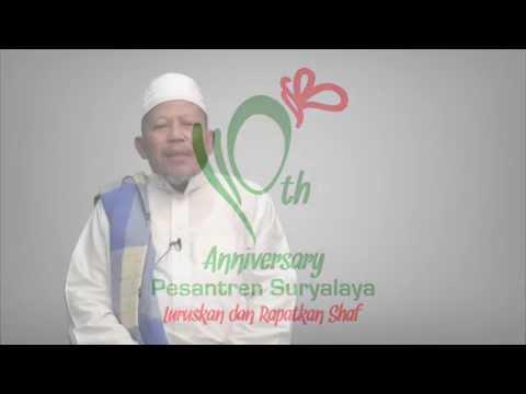 Ucapan Milad Suryalaya 110 - KH Zezen Zaenal Abidin Bazul Asyhab
