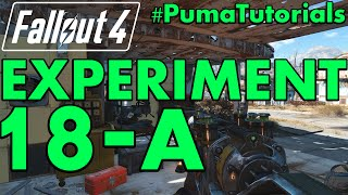 FALLOUT 4 Unique Weapons Guide - How to get the Experiment 18-A Plasma Rifle PumaTutorials