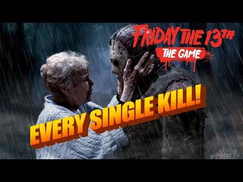 EVERY SINGLE KILL | ALL OF THEM (A PHD In Murder Trophy/Achievement) Friday The 13th Game