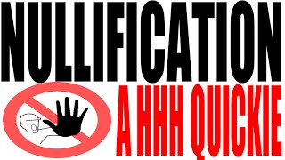 Nullification Explained In One Minute