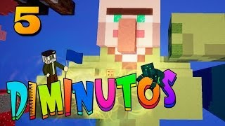 CEREBRO DE ALDEANO!! #DIMINUTOS | Episodio 5 | Minecraft Supervivencia