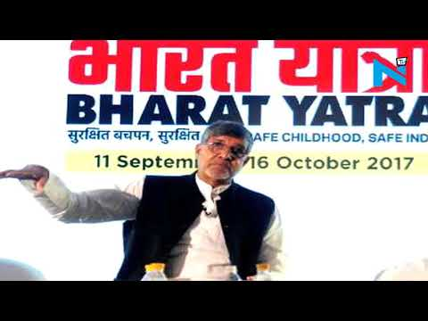 Kailash Satyarthi launches massive 'Bharat Yatra' against child sexual abuse