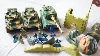 """Детский военный набор """"Бесстрашный 3"""". Открываем с Димой."""