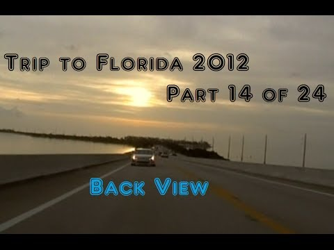 Trip to Florida 2012 | Rear View | 14 of 24 | From Key West, FL to Pompano Beach, FL