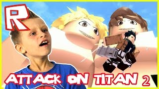 Attack on Titan - TITAN MADNESS   Roblox