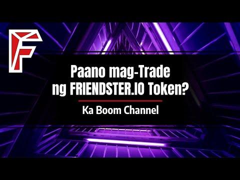 Paano mag-Trade ng FRIENDSTERIO Token?
