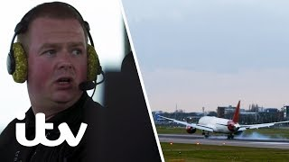 An Engine Failure Puts Heathrow Airport on Lockdown! | Heathrow: Britain's Busiest Airport | ITV
