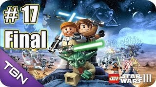 Lego Star Wars 3 The Clone Wars - Gameplay Español - Capitulo 17 Final - HD 720p