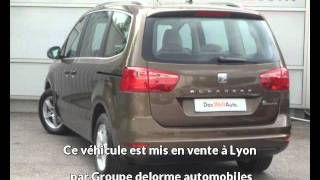 Groupe delorme automobiles présente une Seat alhambra occasion à Lyon