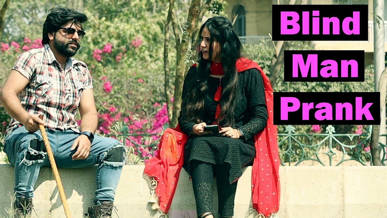 Blind Man Prank | Pranks In Pakistan | Humanitarians