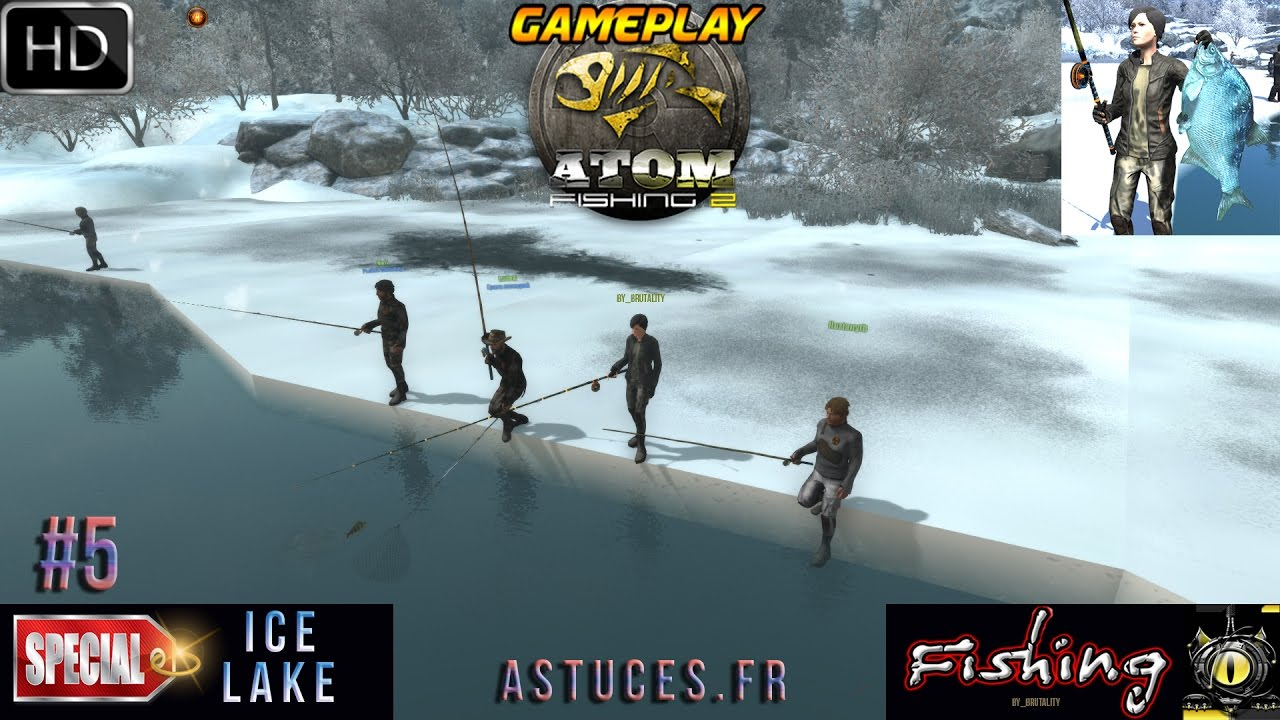 Atom fishing 2 pc gameplay 5 tuto tips astuces fr game for Fishing computer game