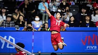 Yuji Nishida 西田 有志 | Monster of the Vertical Jump | VNL 2019