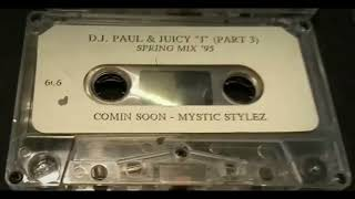 DJ Paul & Juİcy J ft. Lil Gin - Try To Run/Scopin' With A Red Dot Mix (1995)