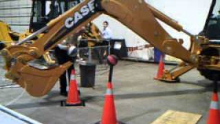 National Heavy Equipment Show Backhoe Rodeo