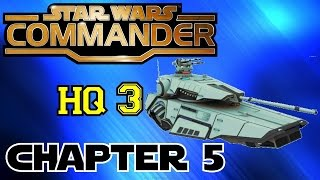 STAR WARS COMMANDER HQ3▐ Chapter 5: Servant of Two Masters with HOVERTANKS!