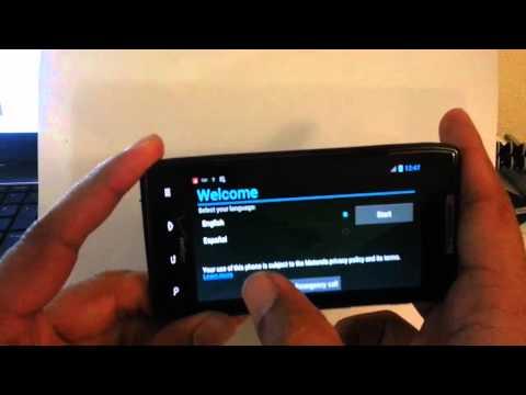 Activation Bypass ICS Verizon Motorola Droid Razr XT912 SECRET Tap Areas