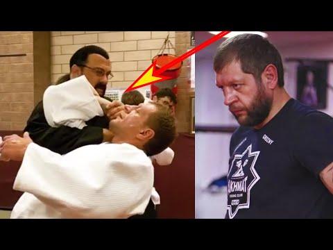 Стивен Сигал заломал Емельяненко/Конец карьеры чемпиона UFC Кейна Веласкеса/Конор-Хабиб-Тони
