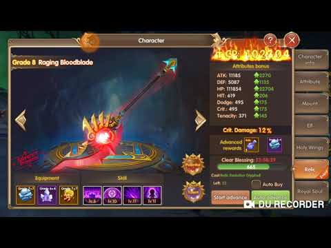 Summoner Knight:Dragon Blaze #upgrade Relic 7 Ke 8