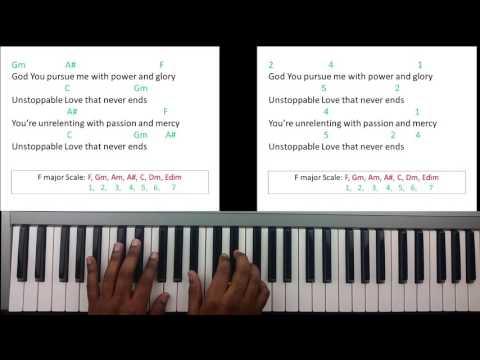 Unstoppable Love - Jesus Culture (Piano Tutorial)