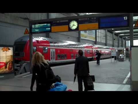MUNICH (D): Airport to Central Train Station