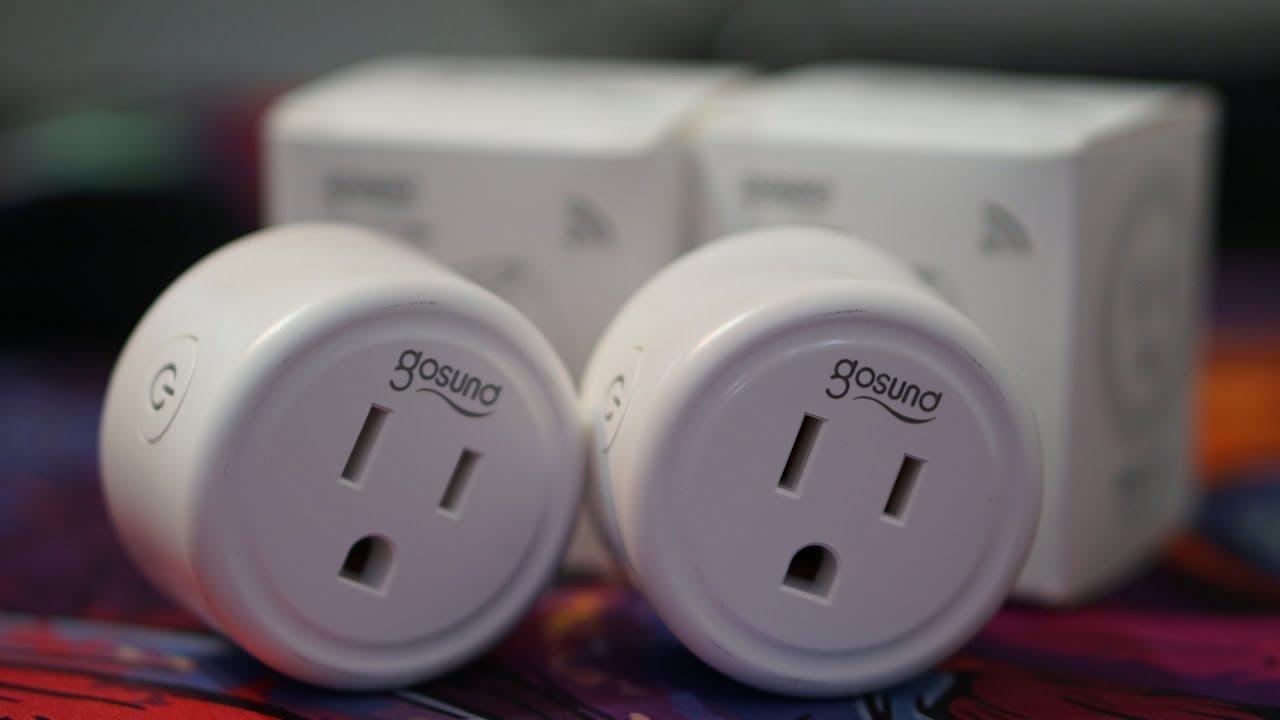 Gosund Smart Plug Review | Works Google and Amazon w/Wifi | Best Smart Home  Plug
