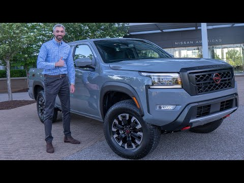 2022 Nissan Frontier [Exclusive First Look & Review]