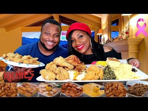 Richie's Fried Chicken, Soul food, Announcing Million Sub Giveaway