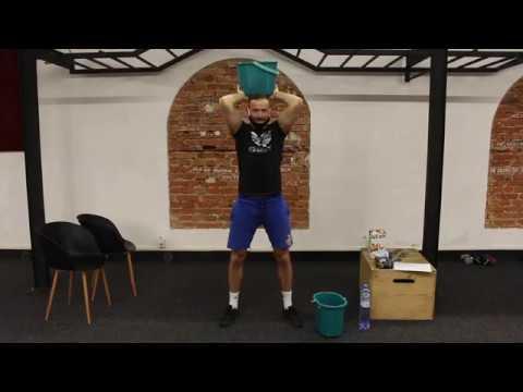 Domácí silový trénink horní část těla | UNIVERSAL POWER