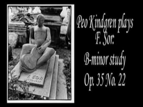 Fernando Sor: B-minor study  - Per-Olov Kindgren